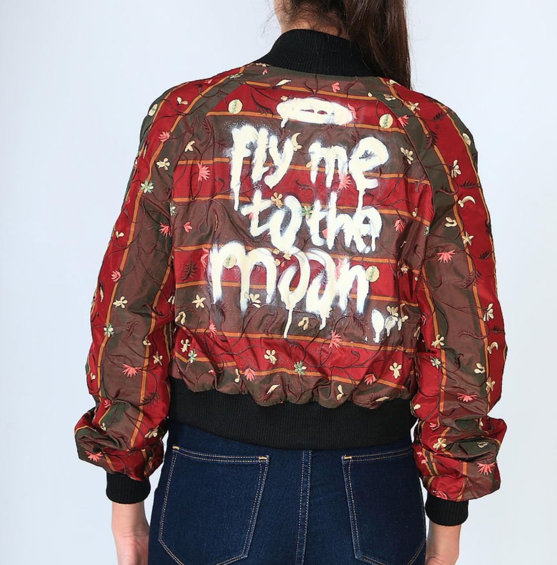 O'RAS graffiti jacket