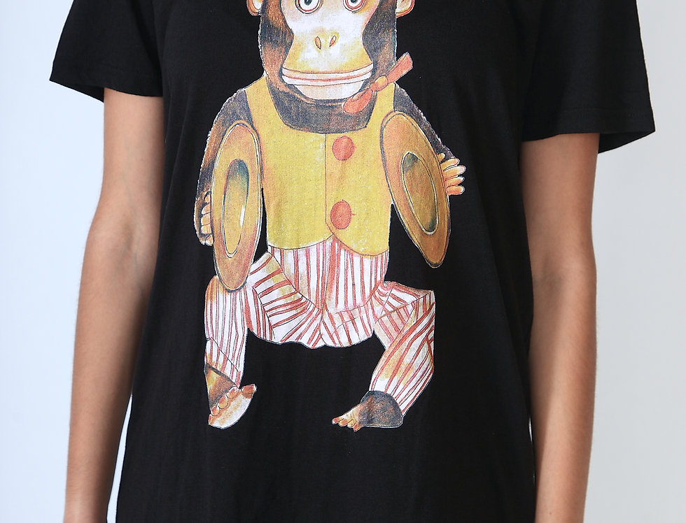"""""""Space monkey in the place to be"""" Unisex T-shirt"""