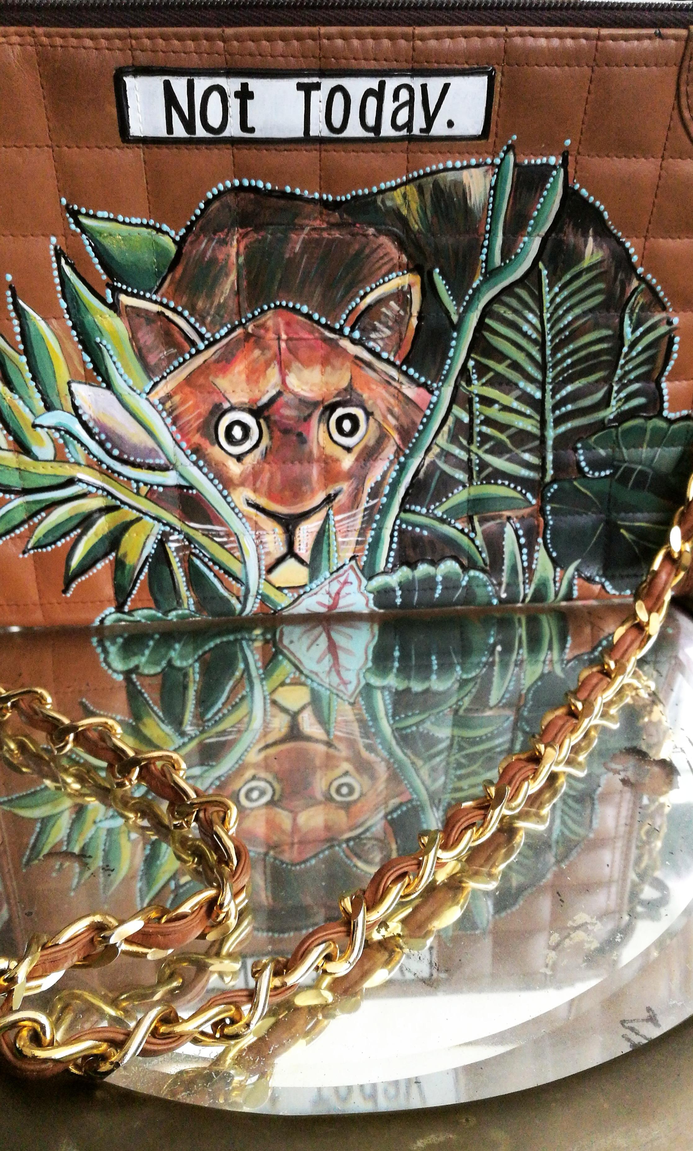 Rousseau Lion bag