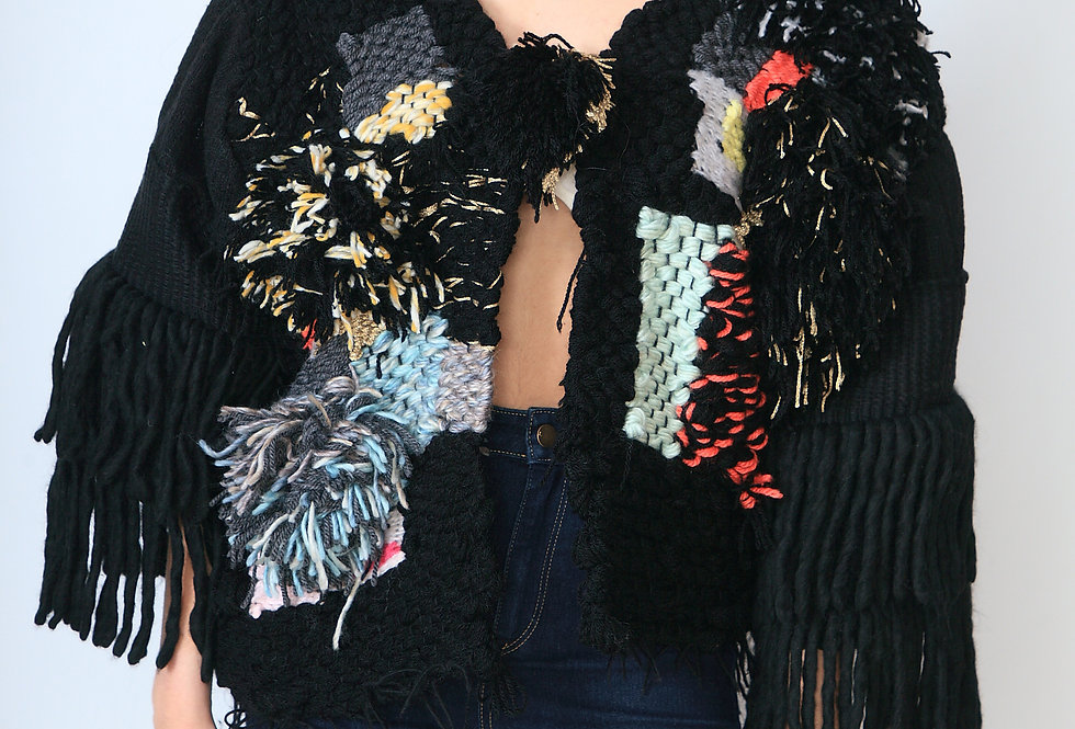"""Black Martian Market"" Couture Jacket"