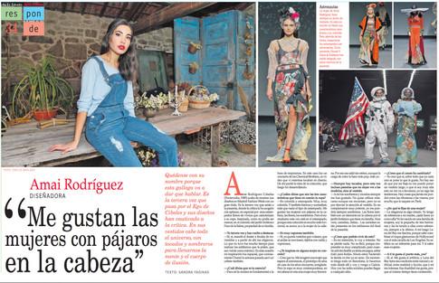 Revista YES interview