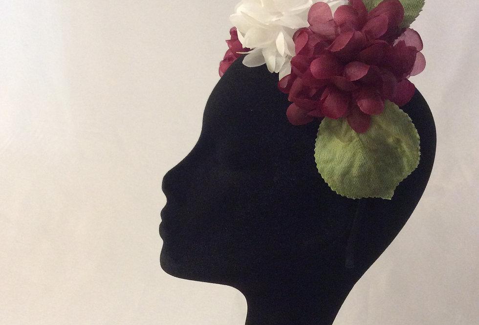 Hydrangea floral Headpiece