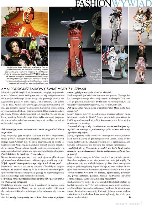 """Trendy Art of living"" Magazine"