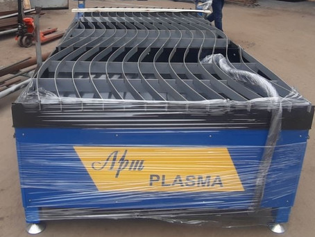 New plasma cutting machine arrived!