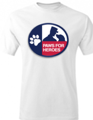 Paws for Heroes T-shirt