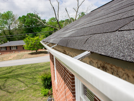 The importance of having gutters.