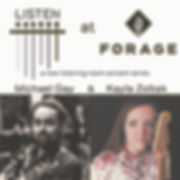 sq Listen at Forage Show Poster 2.20.20.