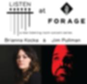 png Listen at Forage Show Poster Nov 21