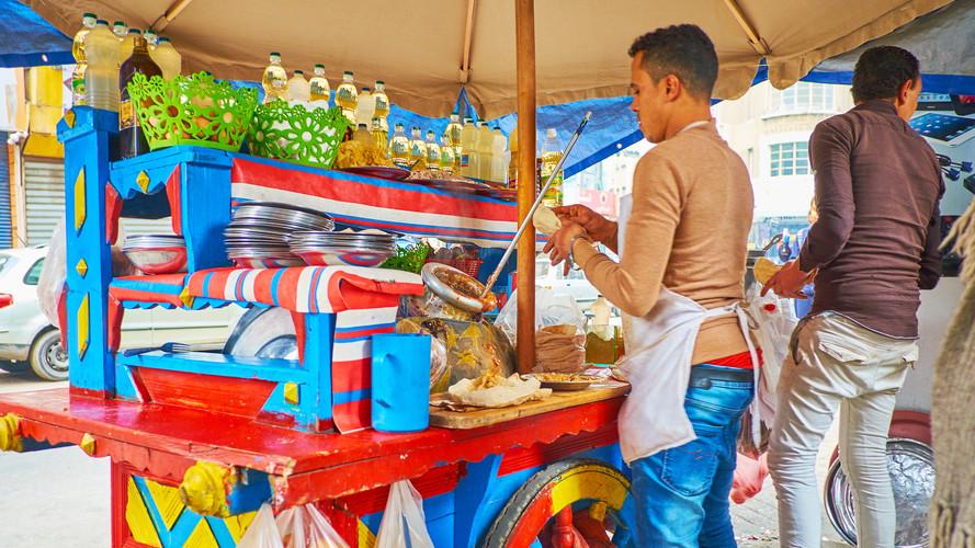 Falafel Cart