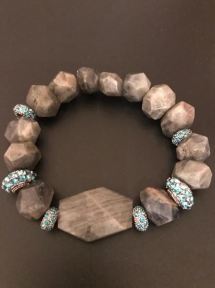 Labradorite w/ light blue accents