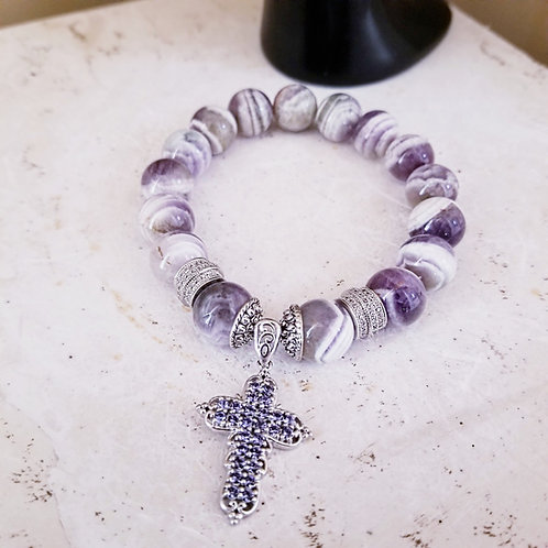 Hounds Tooth Amethyst