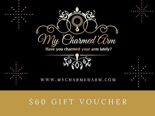 MCA $60 Gift Card