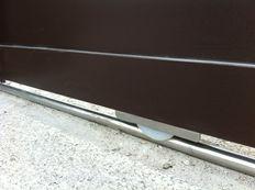Puertas corredera en aluminio soldado