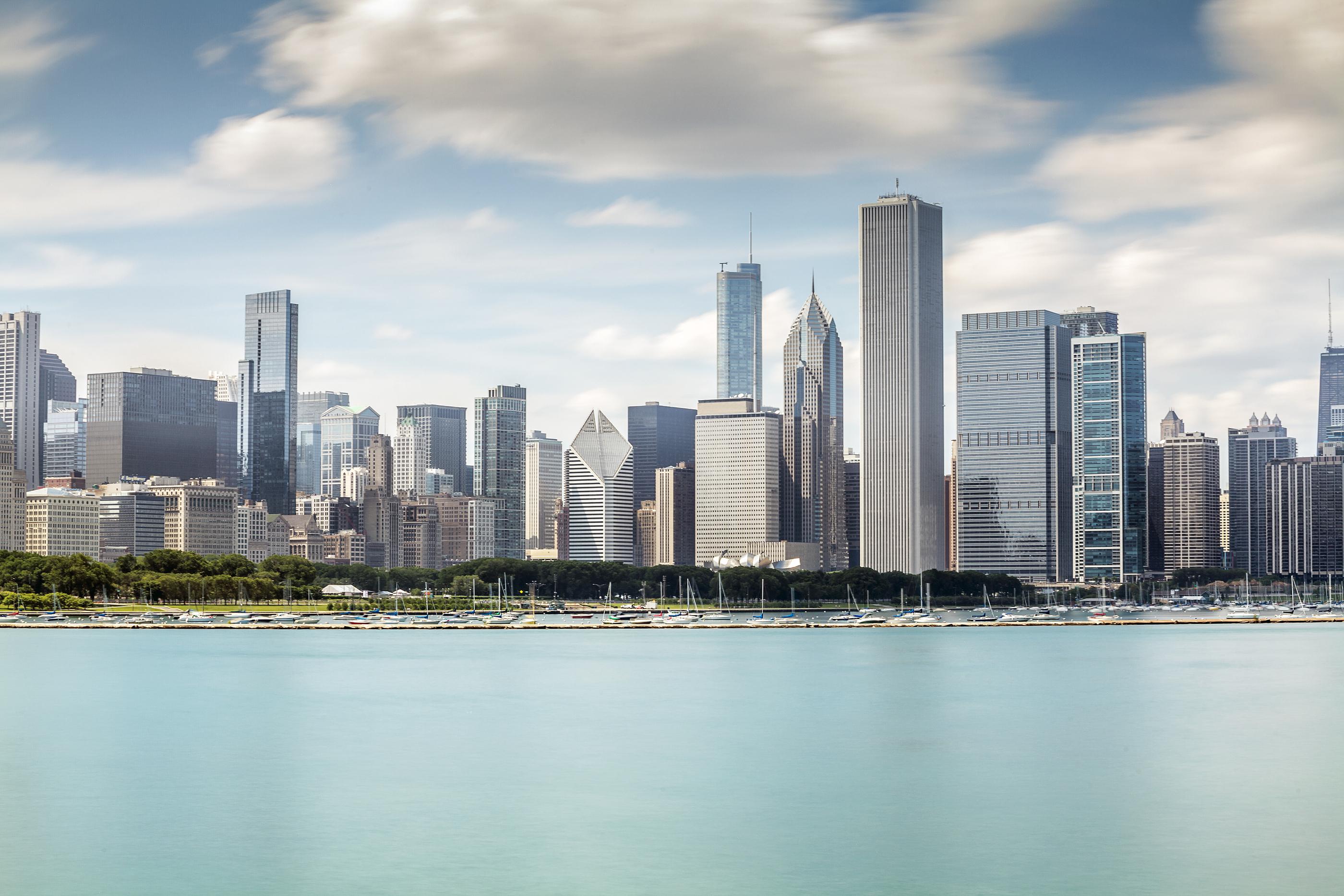 Beautiful Skyline Of Chicago, Illinois..jpg