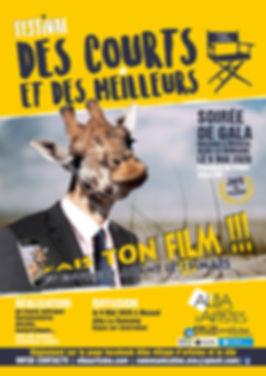 Des courts et des meilleurs 2020 girafe