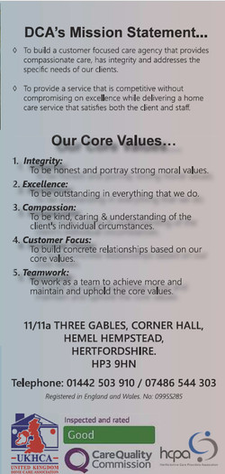 Mission Statement, Values - Page 6