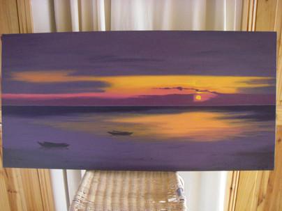 Australia Inspired Painting