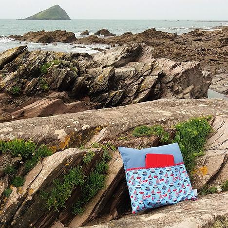 Mrs Marvellous Photo Sail Book Cushion.j