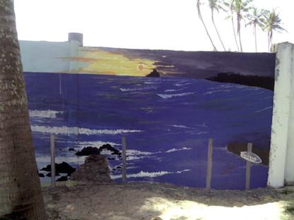 Sri Lanka Wall Art in Midigama