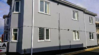 Fresh grey coat of paint