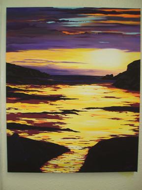 Sun Inspired Painting