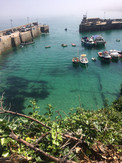 Sunny day in Newquay Harbour