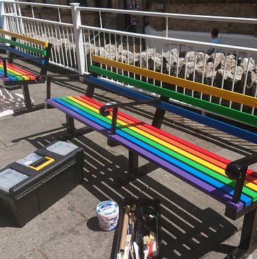 Newquay Benches