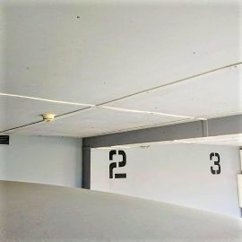 Garage number painting
