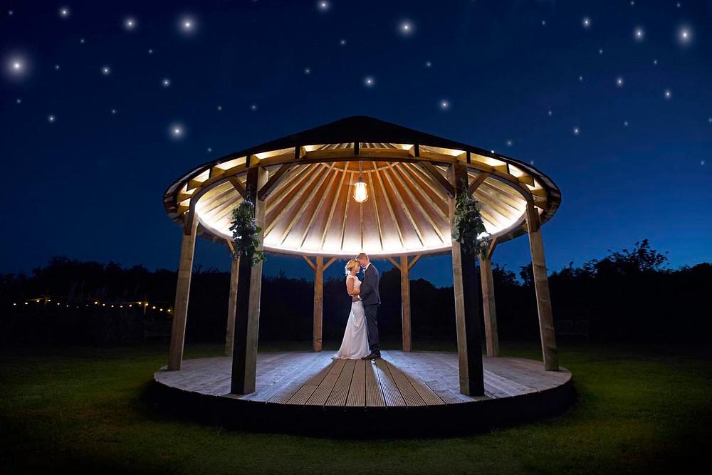 Ceremony under the stars