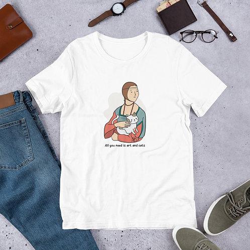 Art and cats Masterwork Short-Sleeve Unisex T-Shirt