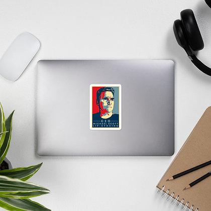 CEO Bubble-free stickers