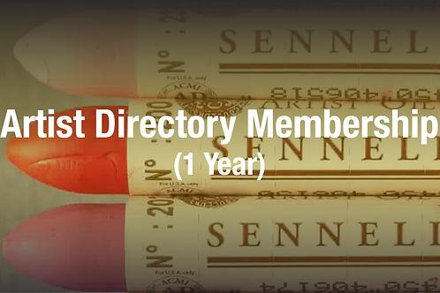 Artist Directory Membership (1 Year)