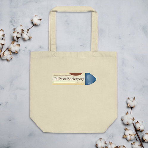 Official Oil Pastel Society (Single Side Printed) Eco Tote Bag