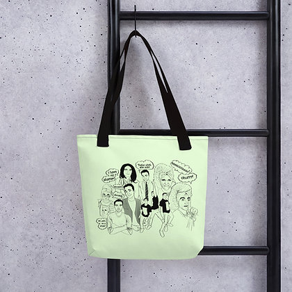 Avatars of Rahul Rai Tote bag