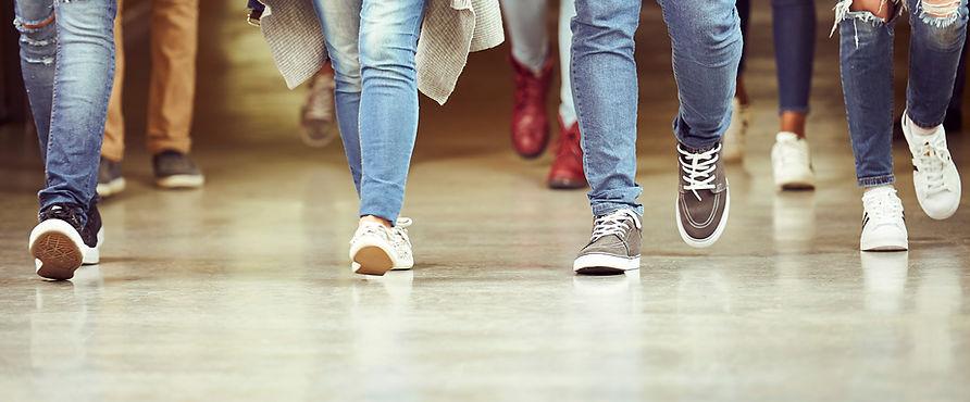 Pernas em Jeans