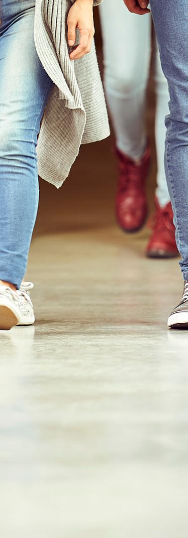 Benen in jeans