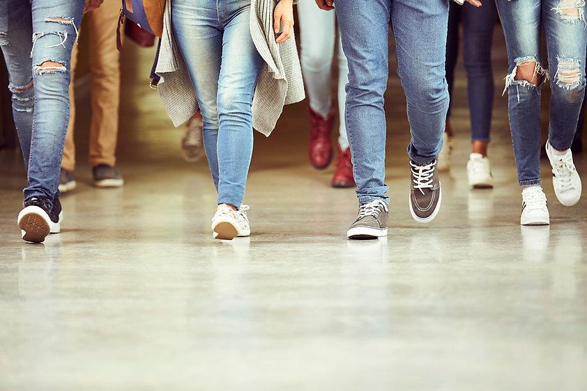Jambes En Jeans