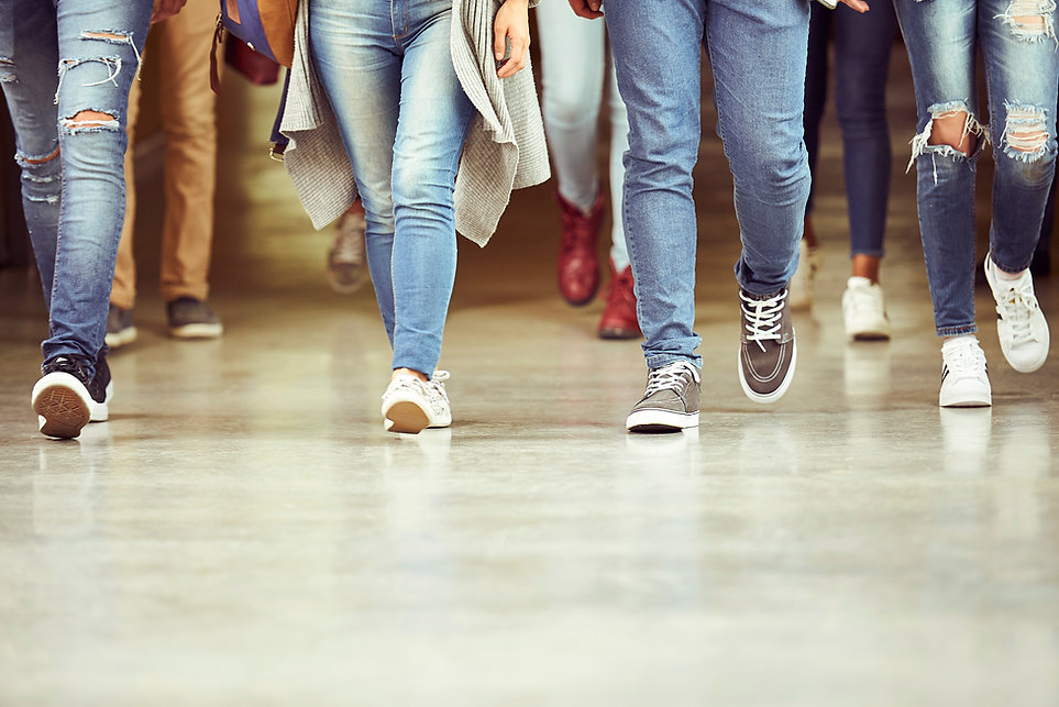 Legs in Jeans