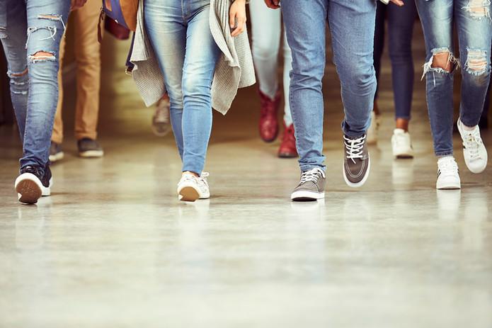 Piernas en Jeans