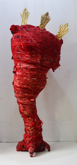 Transitional Object in Red
