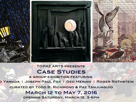 """Topaz Arts presents """"Case Studies"""" and officially launches Found Bound Rebound"""