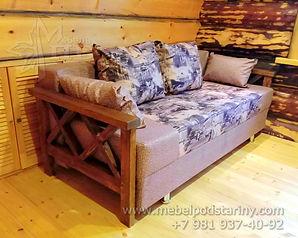 купить диван в спб, диван из дерева, диван под старину, диван для кухни, диван со спальным местом