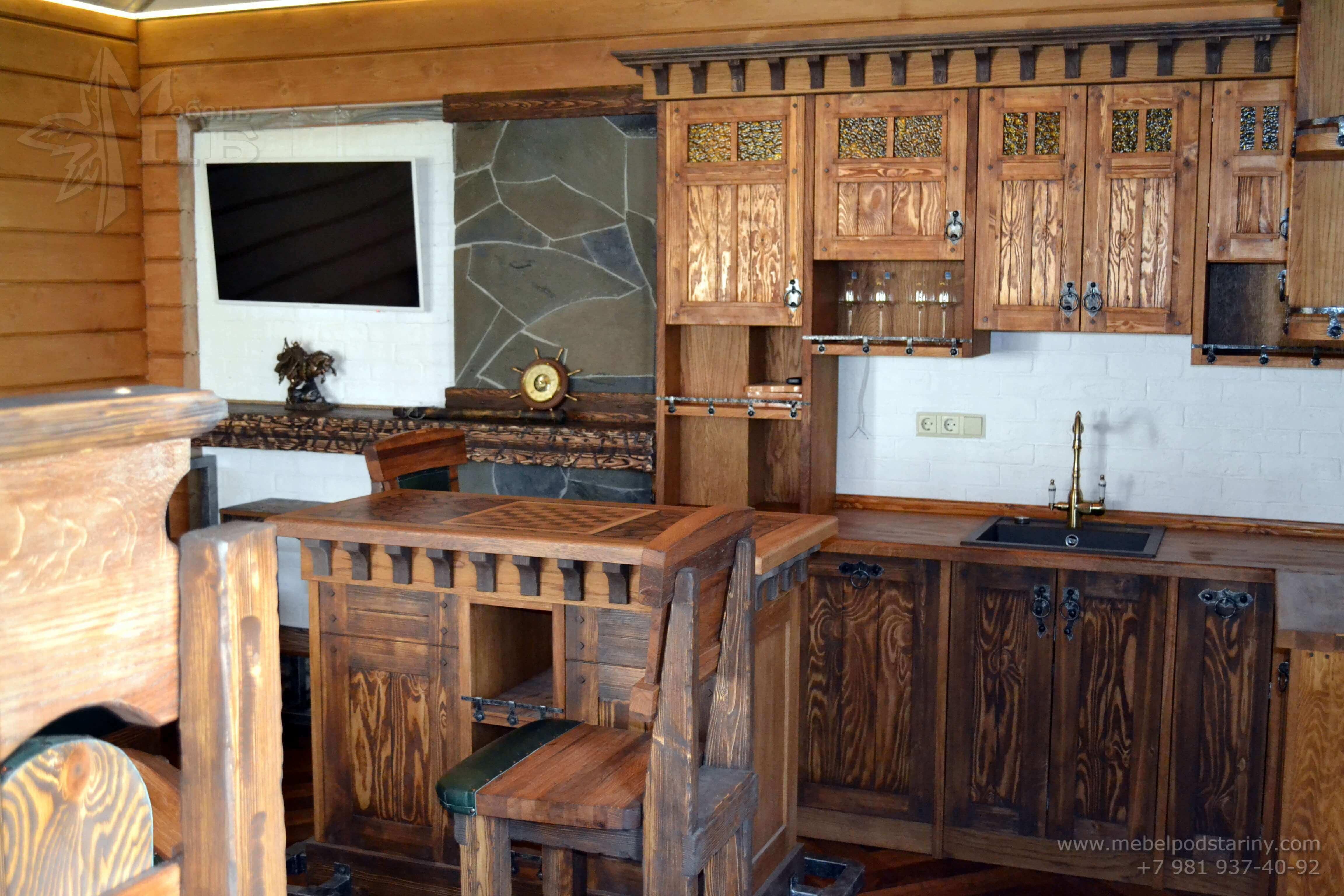 Кухня стиль эклектика МИЛАНА (10)