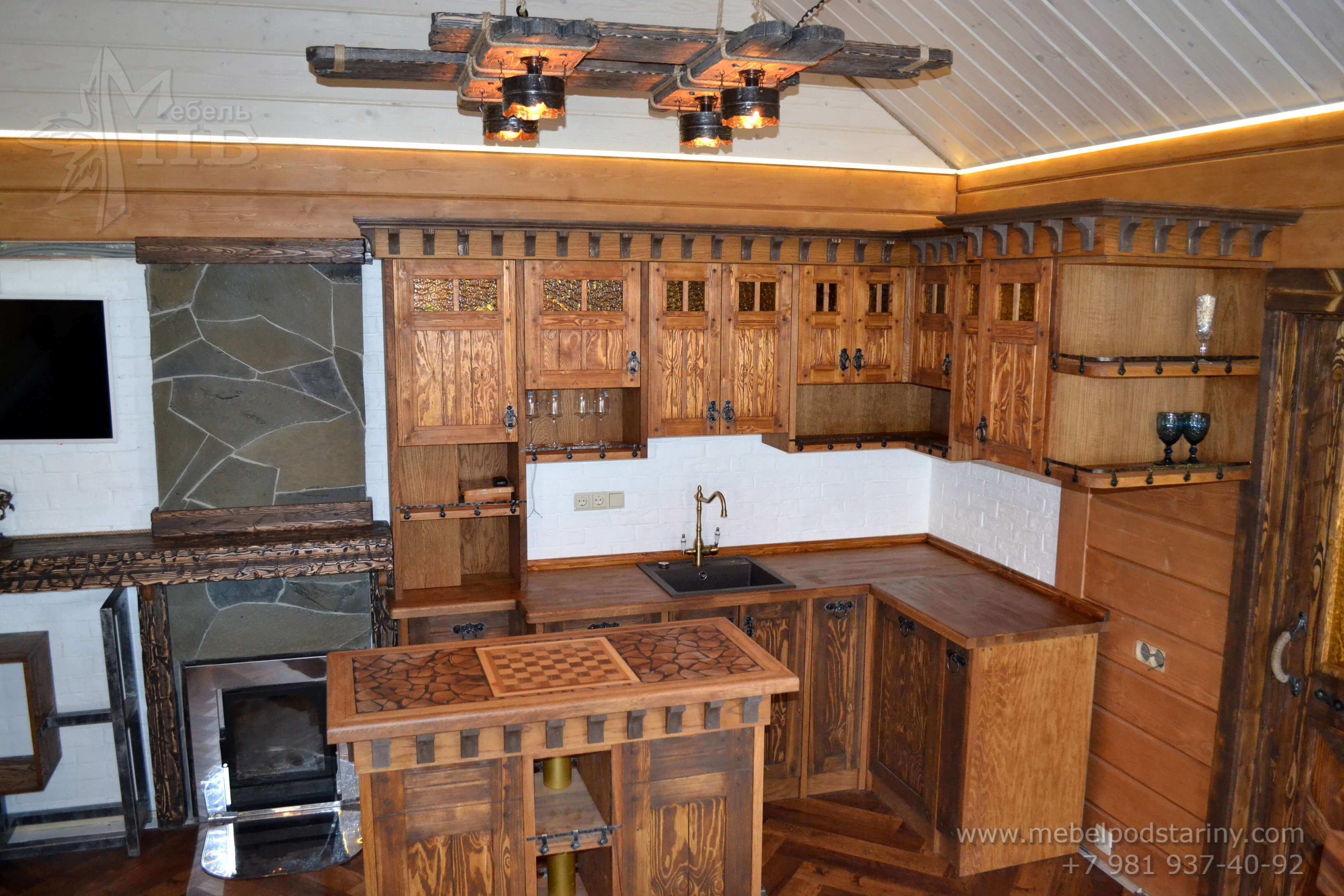Кухня стиль эклектика МИЛАНА (3)