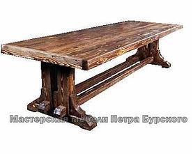 стол из массива дерева ручной работы, стол из массива дерева цена, стол из массива дерева купить, стол из массива дерева заказать, деревянный стол массива под старину