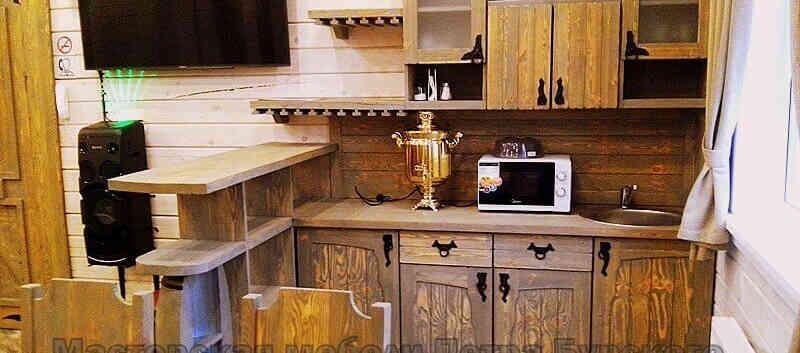 Кухня с барной стойкой СОФЬЯ