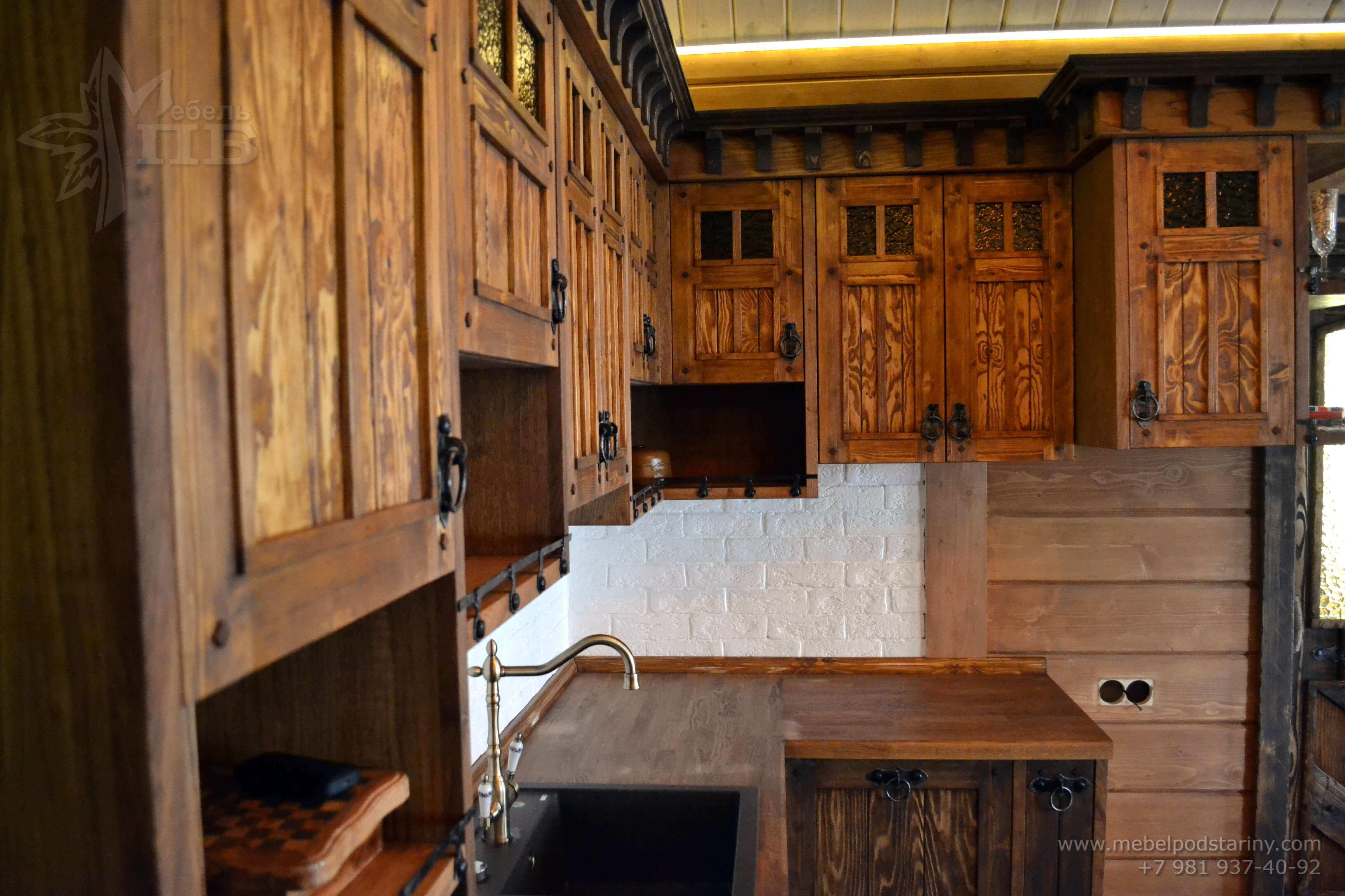Кухня стиль эклектика МИЛАНА (18)