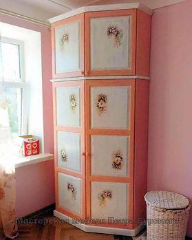 шкаф с росписью, шкаф с росписью из дерева, шкаф шкаф с росписью цена, шкаф шкаф с росписью купить, шкаф шкаф с росписью прованс