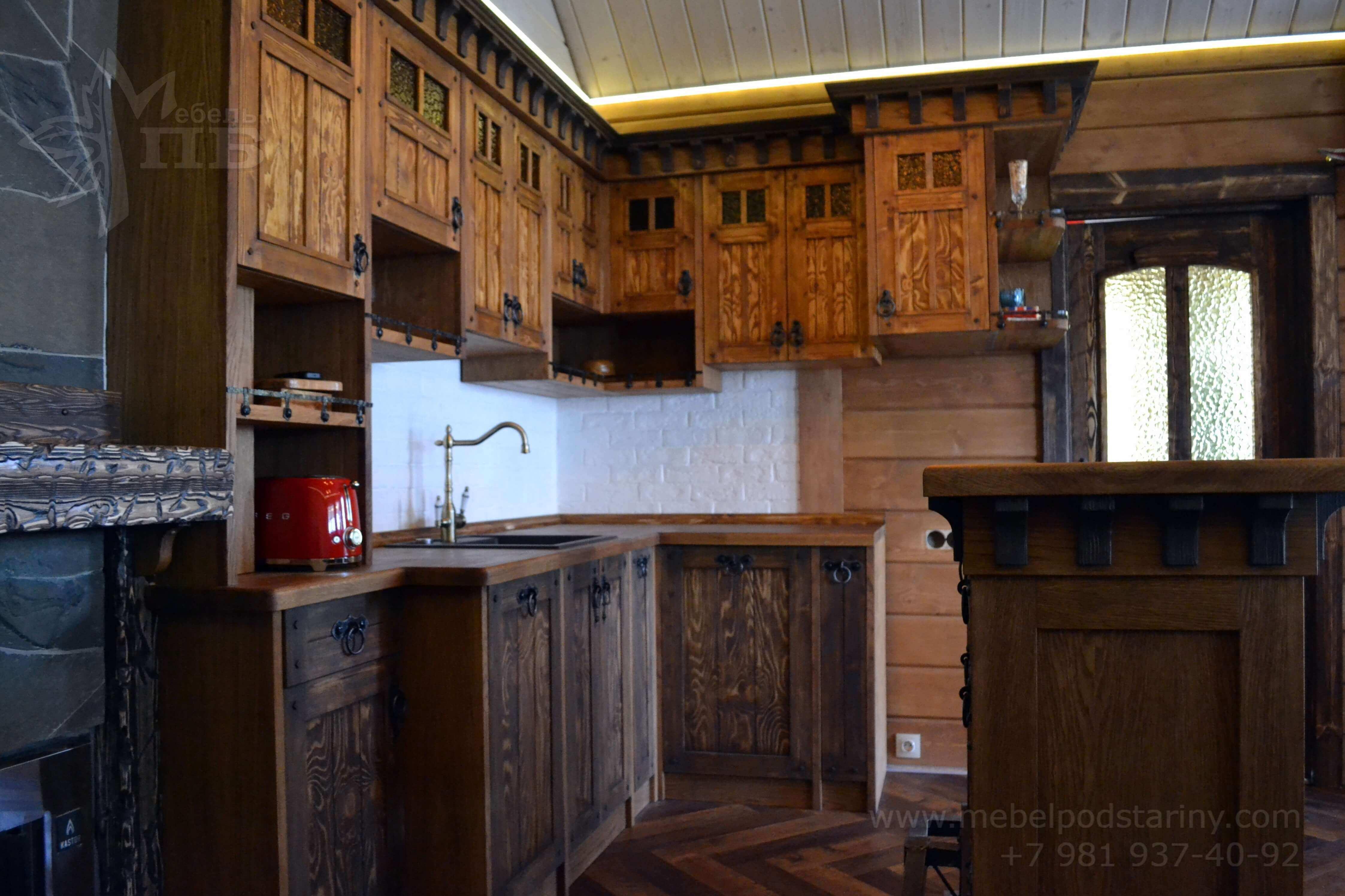 Кухня стиль эклектика МИЛАНА (12)