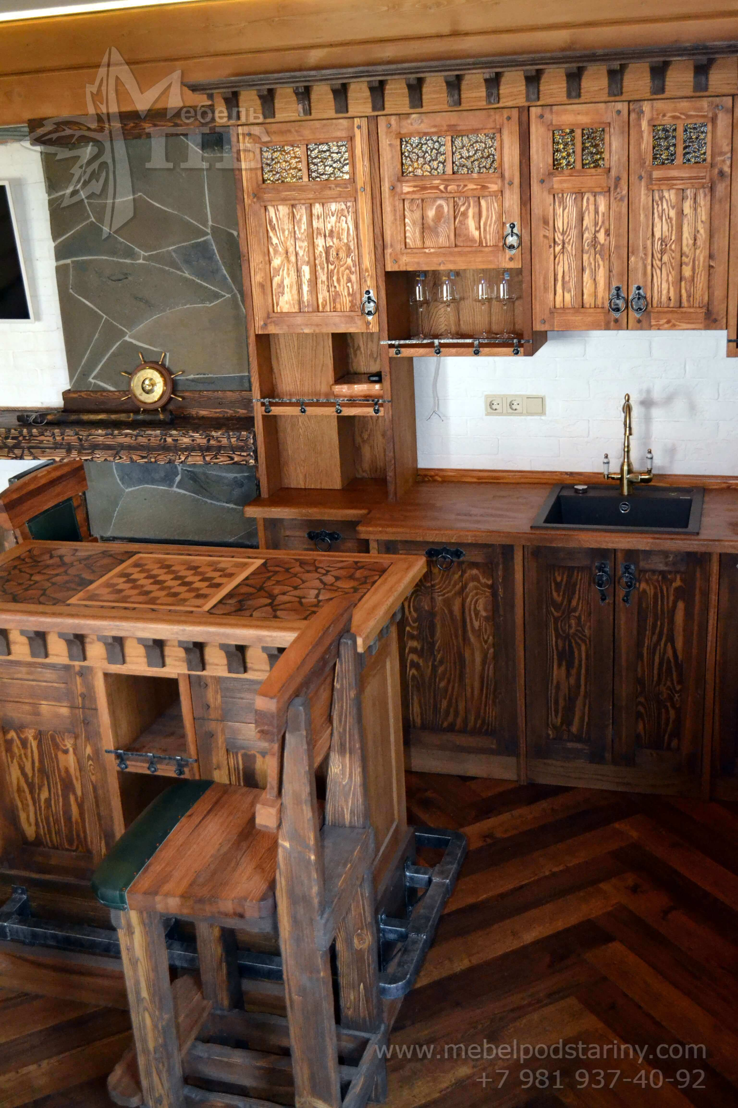 Кухня стиль эклектика МИЛАНА (7)